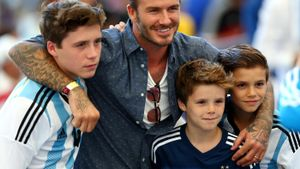 What Are the Names of David Beckham's Children?