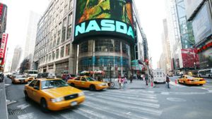 What was the highest NASDAQ close ever?