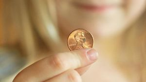 How old is the oldest penny?