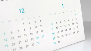 What are the ordinal numbers of the months that have 31 days?