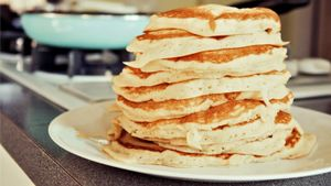 Why do people eat pancakes on Shrove Tuesday?