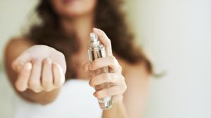 Is perfume flammable?