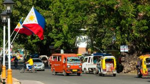 What is the symbolism expressed by the Philippine flag?