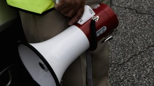 What are the physics of a megaphone?