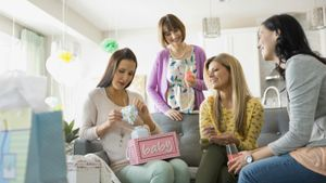 How do you plan a baby shower?