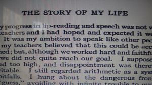 "What Is the Plot of ""The Story of My Life"" by Helen Keller?"