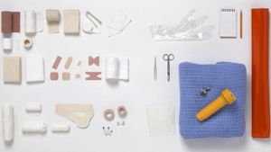 What do you put in a First Aid kit?