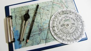 How do you read a protractor?