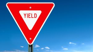 What Does a Red Yield Sign Mean?