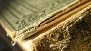 How Do You Restore Old Books?