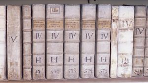 What is a Roman numerals list?