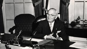 What does the S in Harry S. Truman stand for?