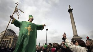 Was Saint Patrick Actually British?