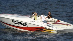What are Scarab boats?