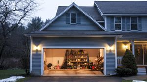 What is the size of a typical garage?
