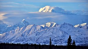 What state is Mount McKinley in?