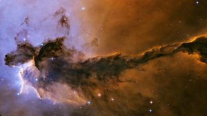 What is a stellar nebula?