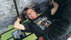 How Are You Supposed to Kiss the Blarney Stone?