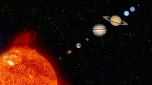 What is the surface temperature on planets?