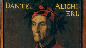What is Dante's most famous work about?