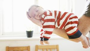 What is the average weight of a 3-month-old baby?