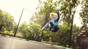 What is the safest trampoline?