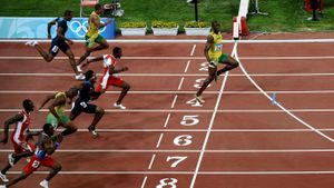 Who Is the World Record Holder in the 100 Meter Dash?