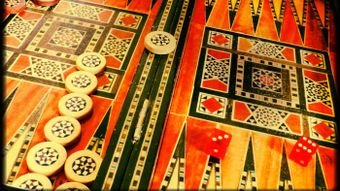 What is a backgammon set?