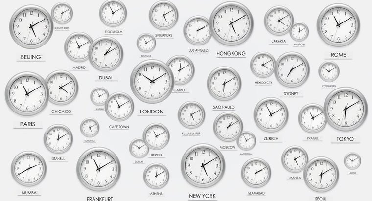 What Is 4 P.m. Eastern Time in GMT?