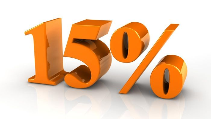 What Is 15 Percent of 60?
