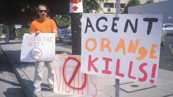 What are the effects of Agent Orange?