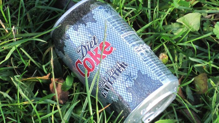 How much sugar is in a 12-ounce can of Diet Coke?