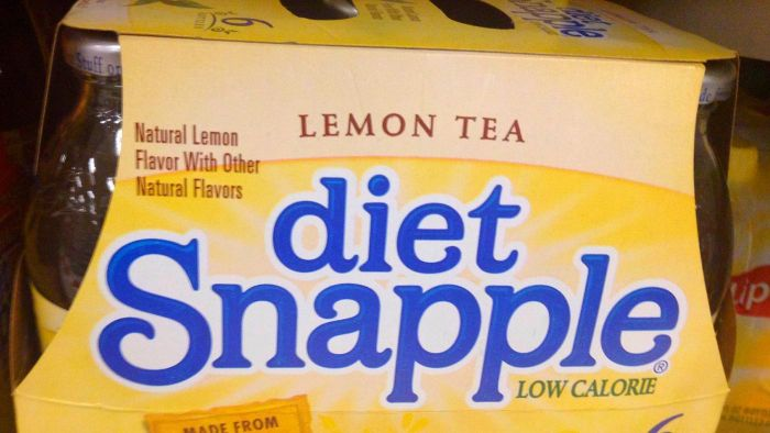Does Diet Snapple contain caffeine?