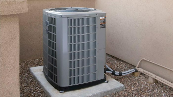 How do you aesthetically hide an air conditioner unit?