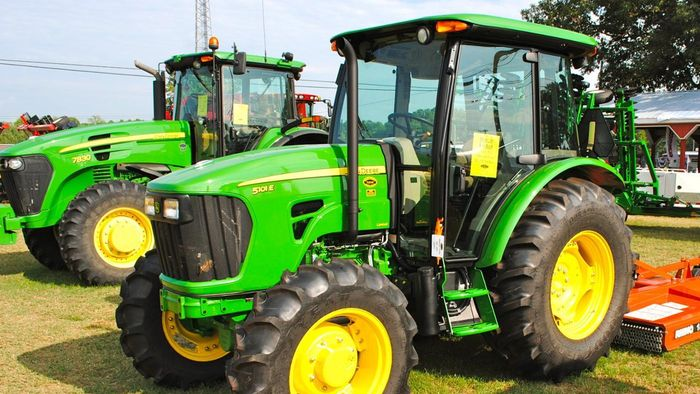 What alternatives are there to using tire chains on your farm tractor?