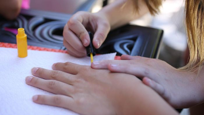 What is an American manicure?