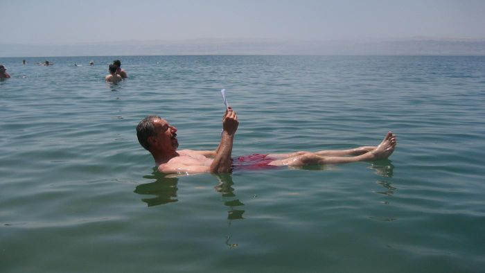 Does Anything Live in the Dead Sea?
