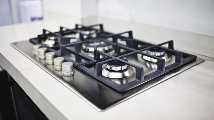 What is an apartment-size gas stove?