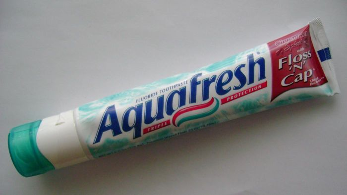 Why Does Aquafresh Toothpaste Have Stripes?