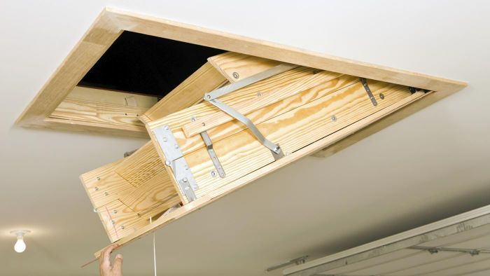 What Are Attic Pull-Down Stairs?