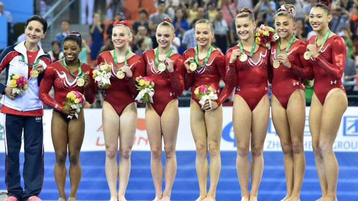 What Is the Average Height of a Female Gymnast?