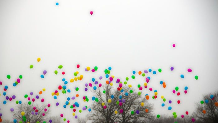 What is a balloon release?