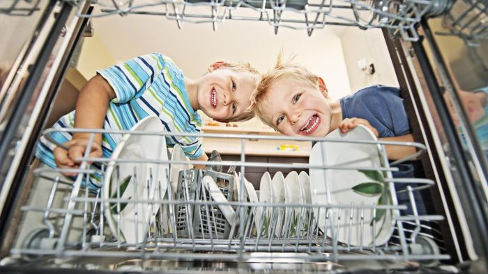 What is the best way to clean a dishwasher?