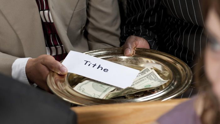 Where in the Bible Does It Say to Give a Tithe?