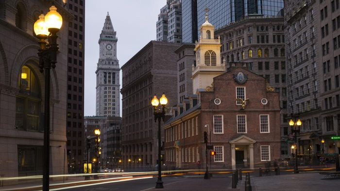 Where Is Boston Located Referencecom - Where is boston