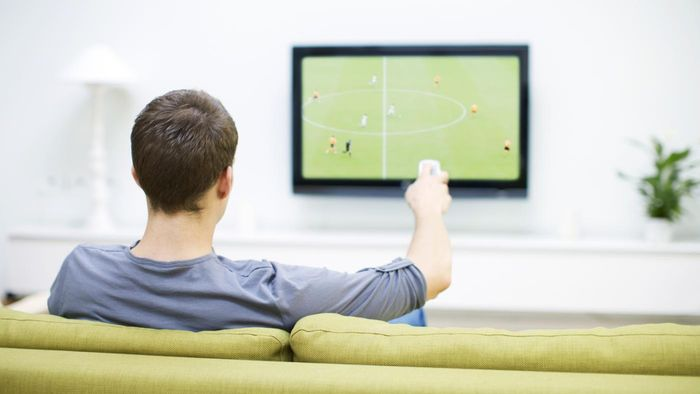 How many calories are burned while watching television for one hour?