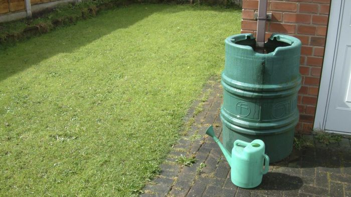 How can you collect rainwater?