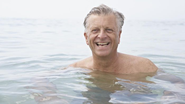 What can be done for the effects of aging with the male reproductive system?