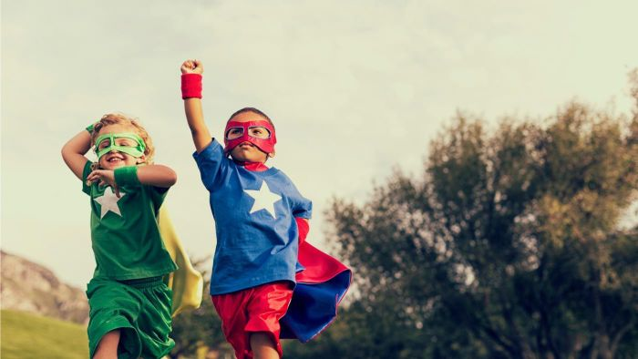 How Can I Dress up Like a Superhero?