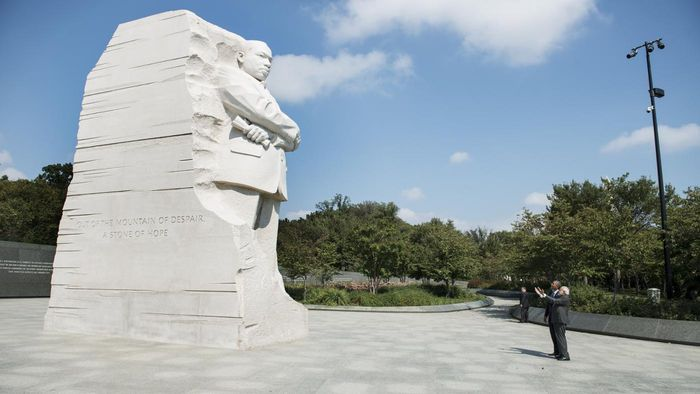 Where Can You Find the History of the MLK Memorial in Washington, D.C.?
